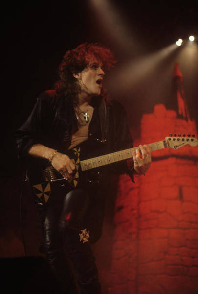Photograph - Vivian Campbell With Dio by Rich Fuscia