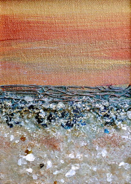 Painting - Vivid Beach by Regina Valluzzi