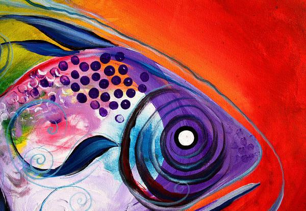 Painting - Vivid Fish by J Vincent Scarpace