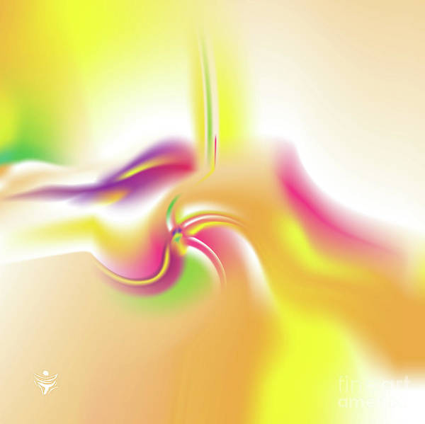 Wall Art - Digital Art - Vividaee - Abstract Art Print - Fantasy - Digital Art - Sea Flower - Fine Art Print by Ron Labryzz