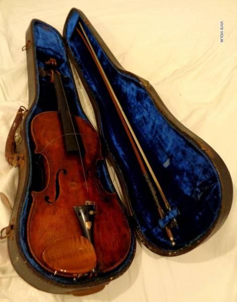 Photograph - Viv's  Violin by VIVA Anderson