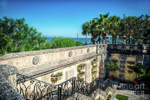 Photograph - Vizcaya The View by Ed Taylor