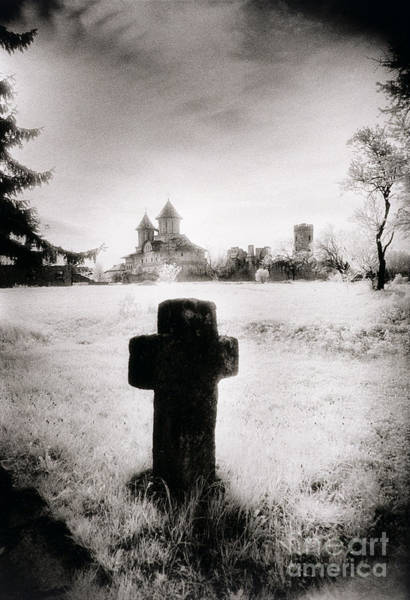 Tombstone Photograph - Vlad Draculas Palace by Simon Marsden