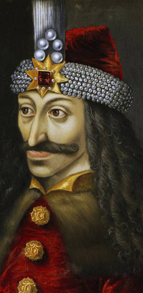 Mustache Painting - Vlad The Impaler by Unknown