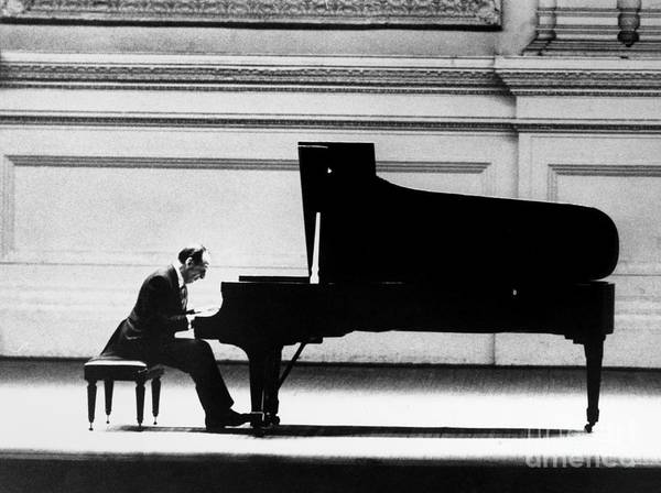Piano Photograph - Vladimir Horowitz by Granger