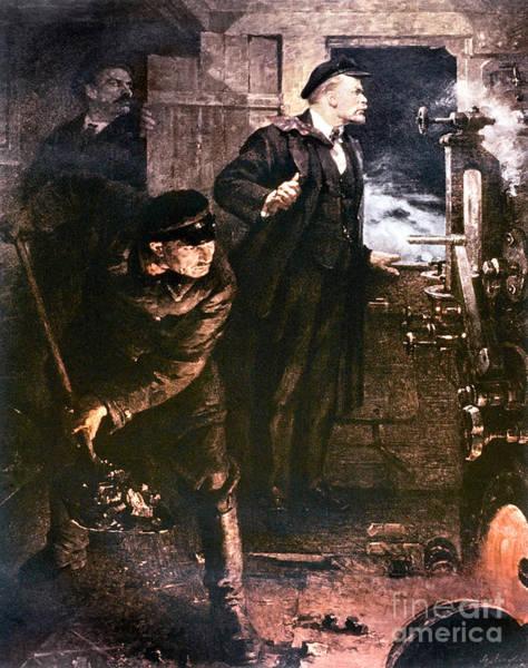 Photograph - Vladimir Lenin by Granger