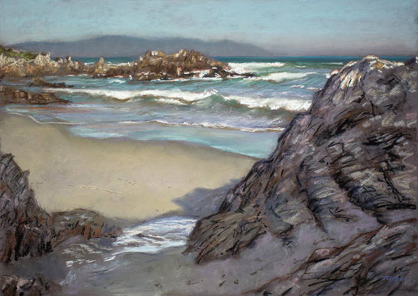 Painting - Voelklip Beach by Christopher Reid