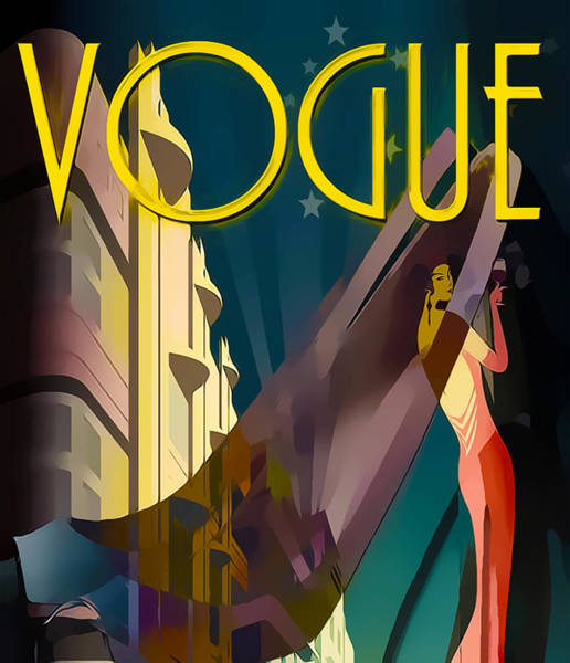 Digital Art - Vogue 4  by Chuck Staley