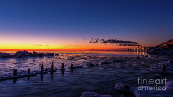 Wall Art - Photograph - Voilet Morning by Andrew Slater