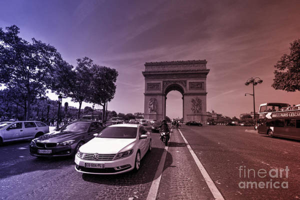 Wall Art - Photograph - Voiture's De Triomphe  by Rob Hawkins