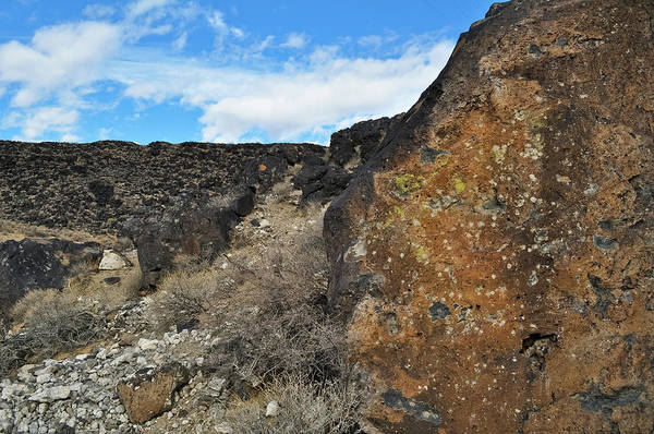 Photograph - Volcanic Basalt New Mexico by Kyle Hanson