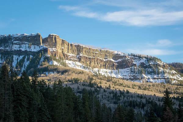 Volcanic Cliffs Of Wolf Creek Pass Art Print