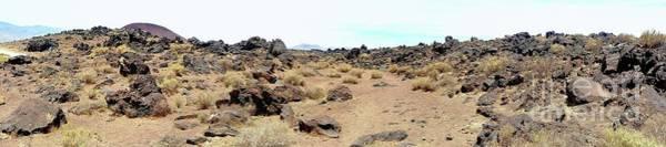 Photograph - Volcanic Field Panorama by Joe Lach
