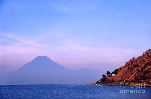 Photograph - Volcanic Peak Lake Atitlan by Thomas R Fletcher