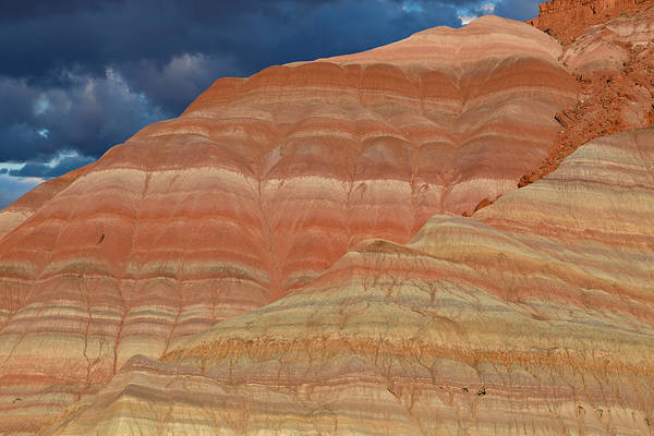 Bishop Hill Photograph - Volcanic Rainbow by Kathleen Bishop