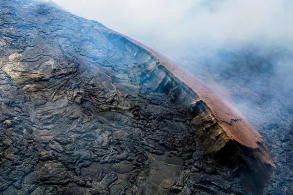 Photograph - Volcanic Ridge by M G Whittingham