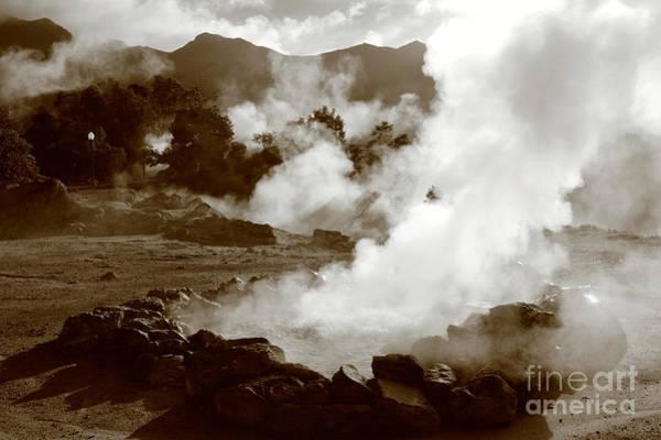 Acores Photograph - Volcanic Steam by Gaspar Avila