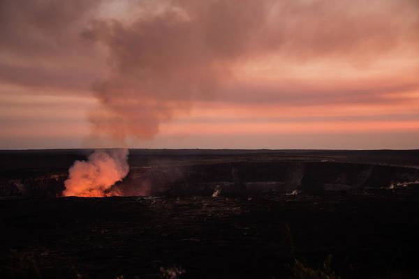 Photograph - Volcanic Sunset by Jennifer Ancker