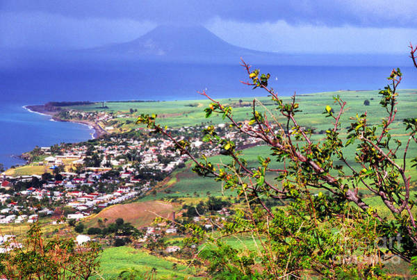 St Kitts Photograph - Volcano Viewed From Brimstone Hill by Thomas R Fletcher