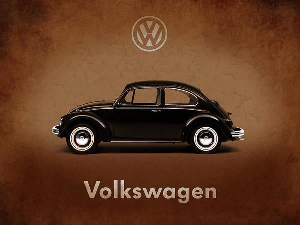 Wall Art - Photograph - Volkswagen Beetle 1969 by Mark Rogan