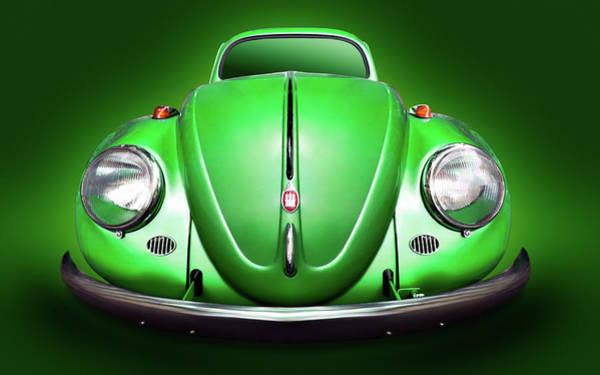 Volkswagen Kafer Photograph - Volkswagen Beetle - Aka Vw Kafer Or Bug by Alexander Voss