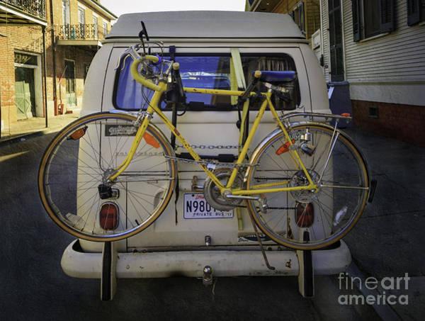 Photograph - Volkswagen Bicycle by Craig J Satterlee