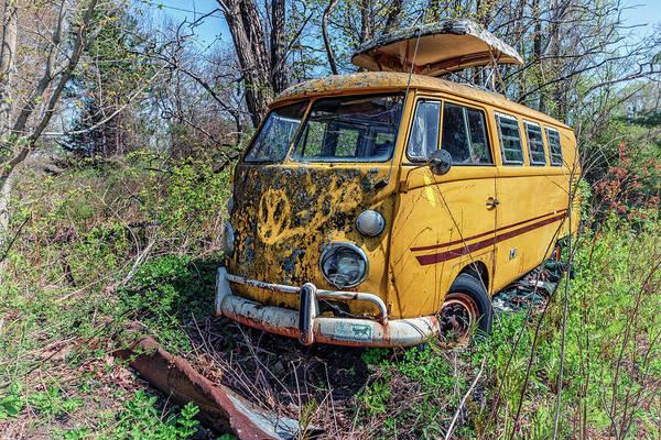 Photograph - Volkswagen Bus by Rick Berk