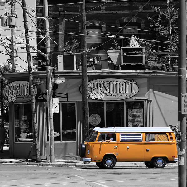 Photograph - Volkswagen Camper 1 by Andrew Fare