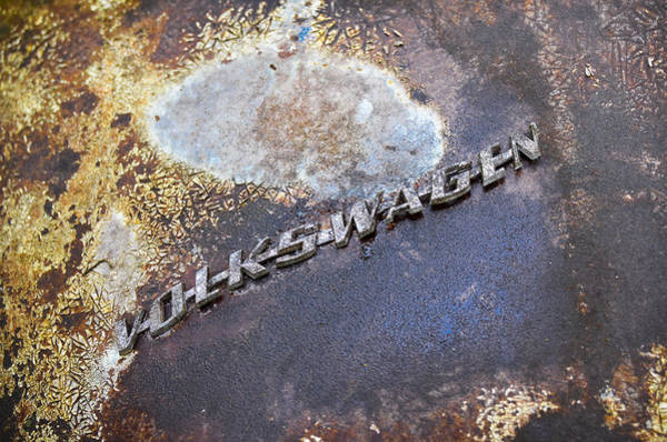 Photograph - Volkswagen Emblem by Carolyn Marshall