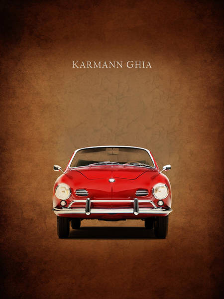 Wall Art - Photograph - Volkswagen Karmann Ghia by Mark Rogan