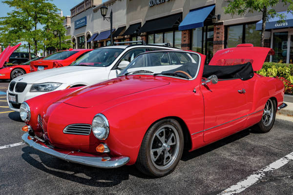 Photograph - Volkswagen Karmann Ghia by Randy Scherkenbach