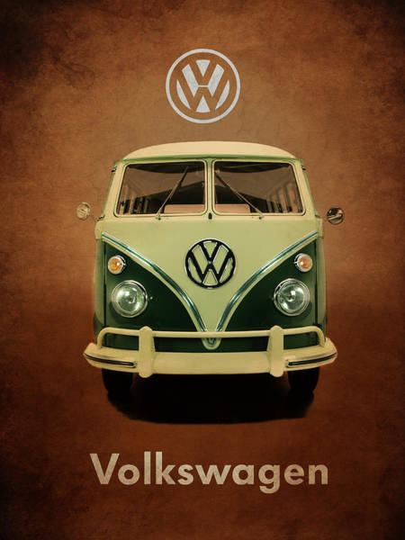Volkswagen Wall Art - Photograph - Volkswagen T1 1963 by Mark Rogan