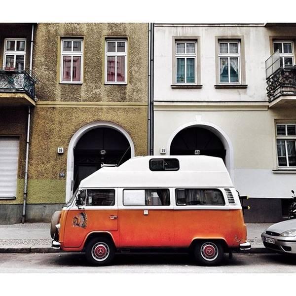 Vw Camper Photograph - Volkswagen T2 camper  #berlin by Berlinspotting BrlnSpttng