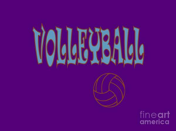 Digital Art - Volleyball Apparel by David Millenheft