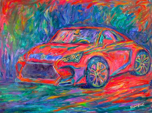 Painting - Volvo Energy by Kendall Kessler
