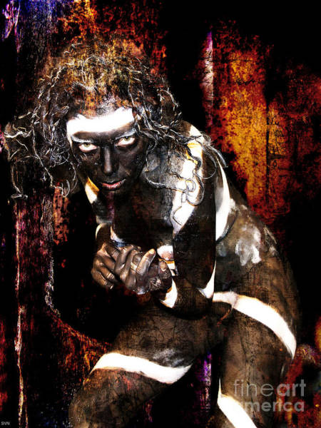 Wall Art - Photograph - Voodoo Black 11 by The Hybryds