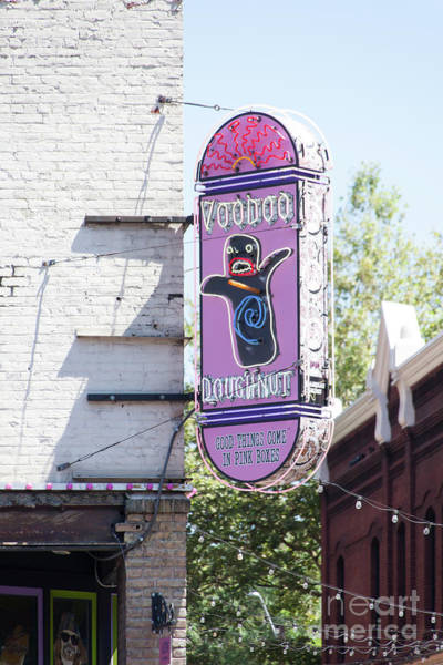 Photograph - Voodoo Doughnut Portland Oregon 5d3707 by Wingsdomain Art and Photography
