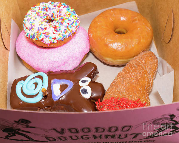 Photograph - Voodoo Doughnut Portland Oregon Dsc6608 by Wingsdomain Art and Photography