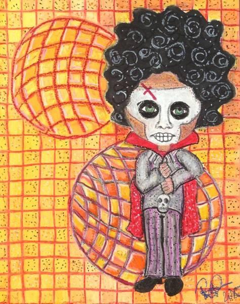 Sorcery Drawing - Voodoo Man by Regina Jeffers
