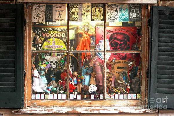 Photograph - Voodoo Unto Others New Orleans by John Rizzuto
