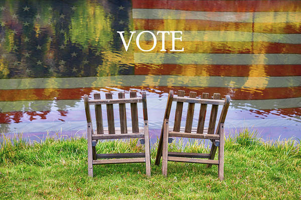 Photograph - Vote by James BO Insogna
