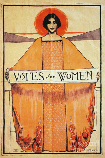 Photograph - Votes For Women - To License For Professional Use Visit Granger.com by Granger