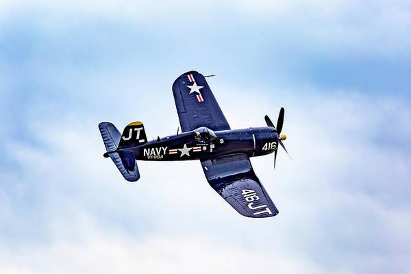 Photograph - Vought F4u Corsair  by Jack R Perry