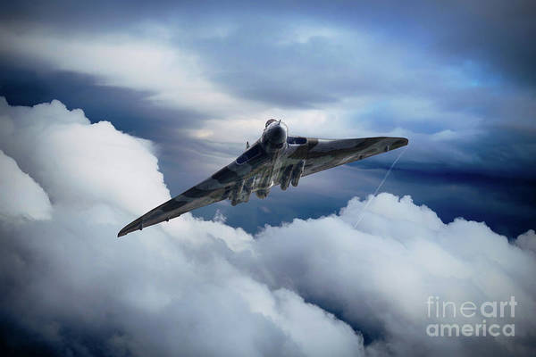Wall Art - Digital Art - Vulcan Aviation by J Biggadike