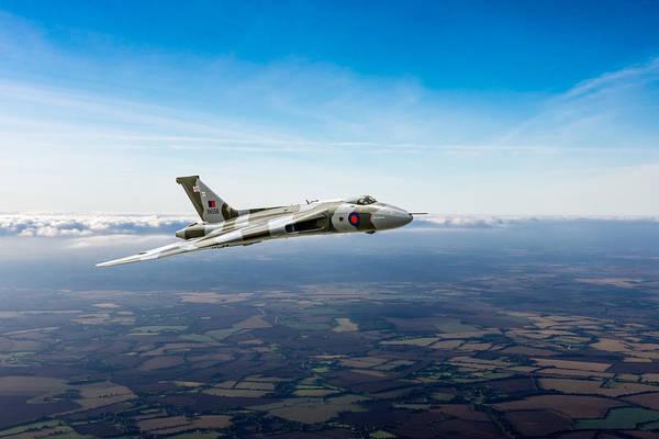 Photograph - Vulcan In Flight 2 by Gary Eason