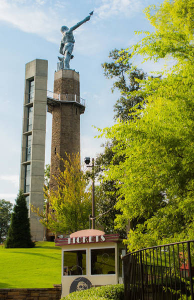 Photograph - Vulcan Park And Museum by Parker Cunningham