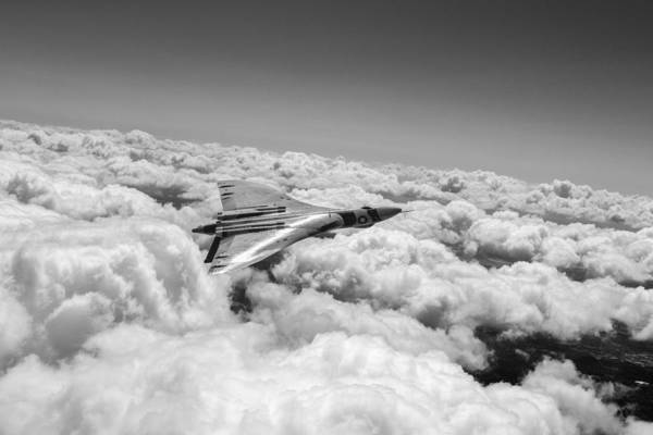 Digital Art - Vulcan Sheen Bw Version by Gary Eason