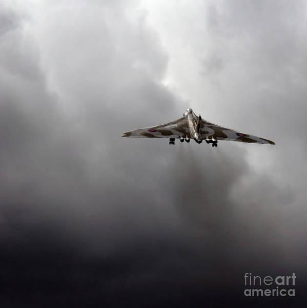 Vulcan Bomber Photograph - Vulcan To The Sky by Angel Ciesniarska