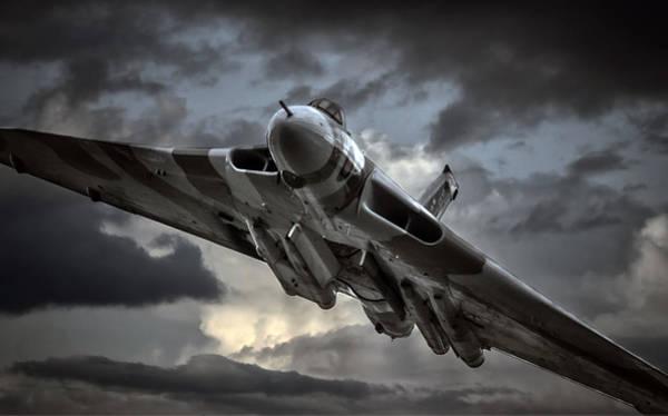 Vulcan Bomber Photograph - Vulcan Xh558 by Jason Green