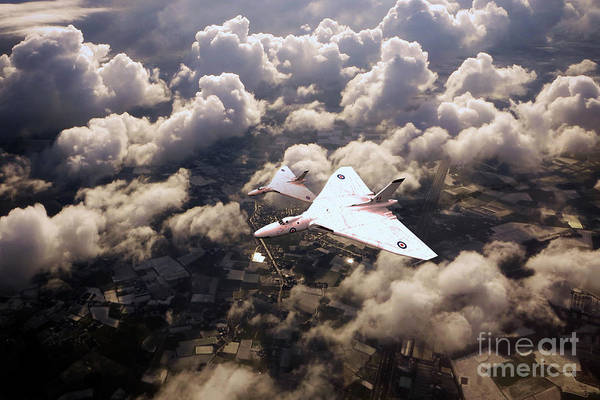 Wall Art - Digital Art - Vulcan Xm603 by J Biggadike